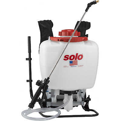 Solo Model 425 Professional Backpack Sprayer 4 Gallon Piston Pump Backpack Piston Pump Sprayer