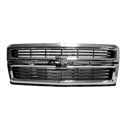 Front Grille Fits 2014-2015 Chevrolet Silverado 1500 23259619