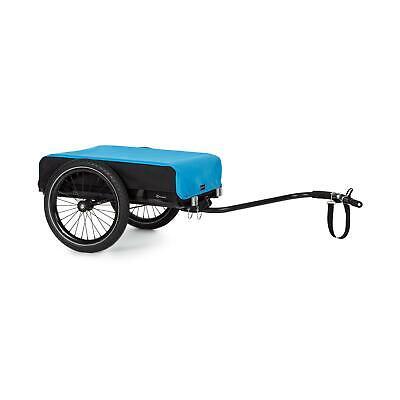 Remolque Bicicletas Cesta Extraible 50L Carga 40kg 2 pasadores de bloqueo - Azul segunda mano  España
