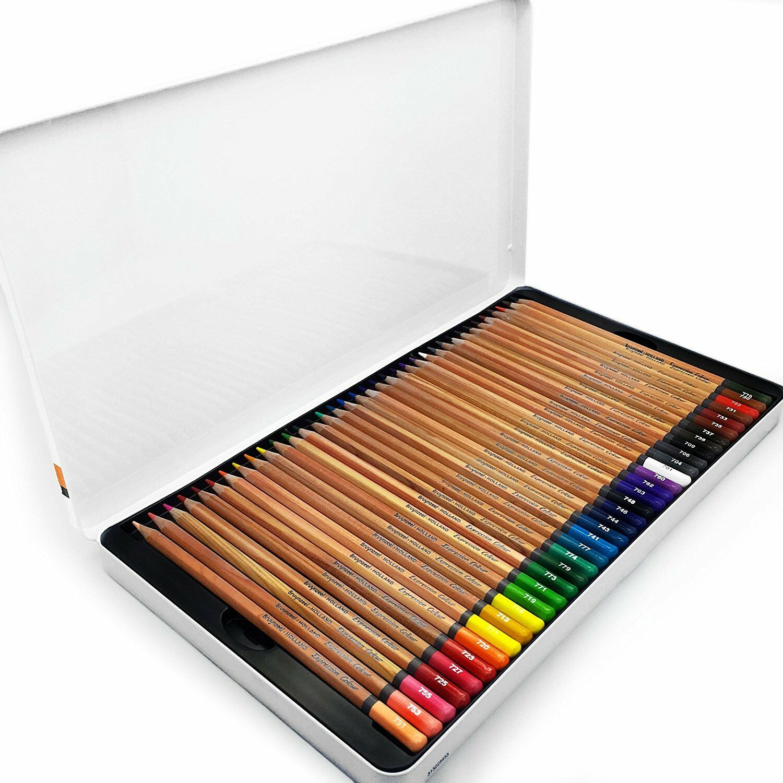 expression colour artist colouring pencils gift tin