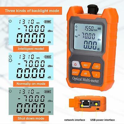 -70 To 6dbm Fiber Optical Cable Tester Fiber Optic Power Meter Ftth Fiber C6l6