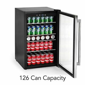 Frigidaire 126 Can Stainless Steel Beverage Center, 4.4 cu.