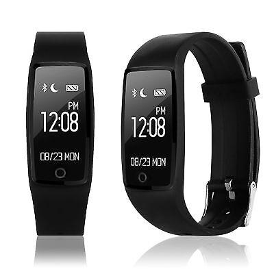 Smart Watch Pulsuhr Blutdruck Schrittzähler Sport Fitness Tracker Heart Rate Uhr