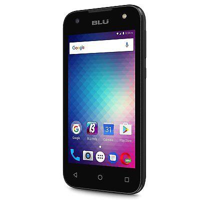 BLU Advance A4 Unlocked Dual Sim Smartphone Black Android