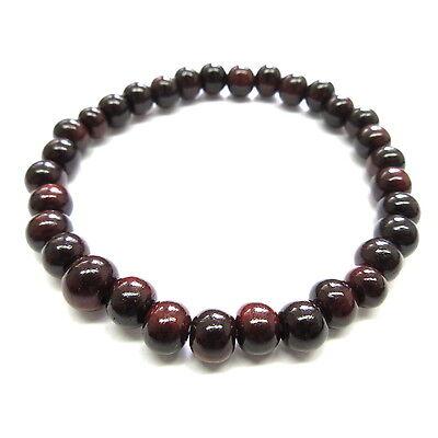 Shitan Rosewood Bracelet Japanese Juzu Prayer beads Asian Rosary Zen Kyoto UDA48