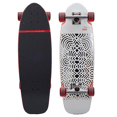 "Globe Skateboard Cruiser SHMOOZER CHINA HEIGHTS/FOIL 8.75"" x 29"""