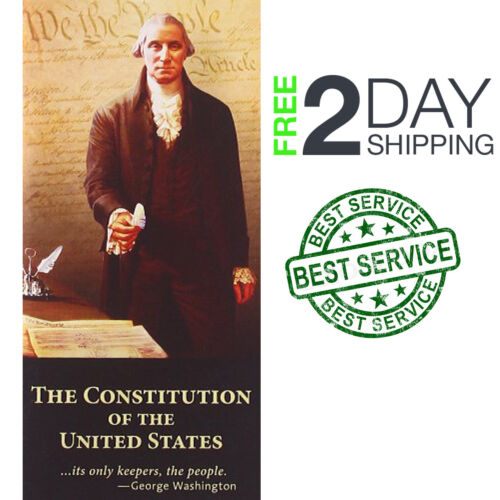 The Constitution of the United States Declaration Independence Pamphlet Pocket