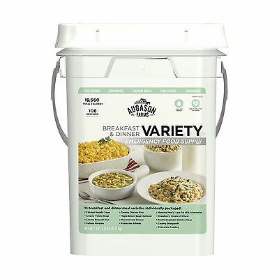 106 Meals VARIETY Food Storage Emergency Supply Bucket Rations Kit Survival mre (Storage Buckets)