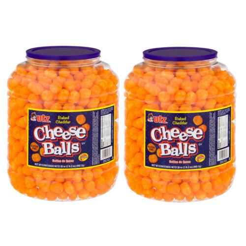 Utz Cheese Ball Barrels 35 oz. (2 pk.)