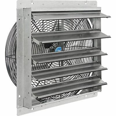 18w Exhaust Ventilation Fan With Shutter Single Speed