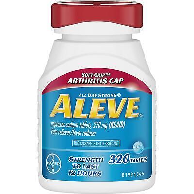 Aleve Pain Reliever Tablets, Arthritis Cap (320 ct.)''BEST
