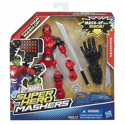 Marvel Super Hero Mashers 6  Action Figure  Deadpool