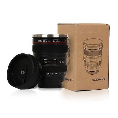 Best Camera Lens Thermos Stainless Steel Cup/ Mug for Coffee or
