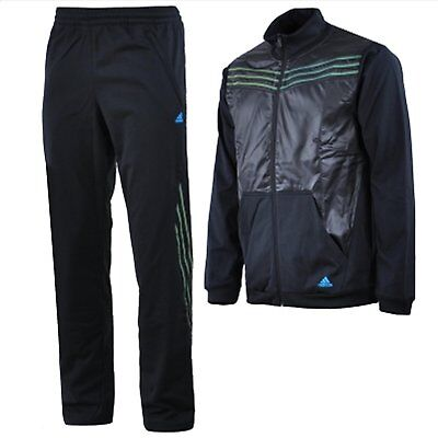 nwt~Adidas STREET WOVEN Track Suit Sweat Shirt Jacket Top Pant firebird~Men sz -