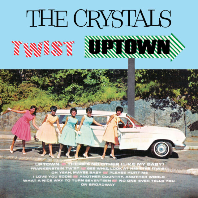 The Crystals – Crystals Twist Uptown CD
