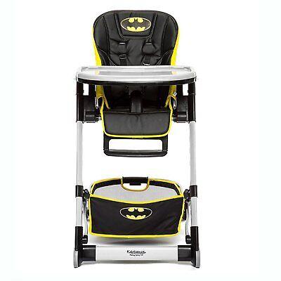 Kids Embrace DC Comics Batman Deluxe Baby High Chair Toddler Booster High Chair (Batman Chair)