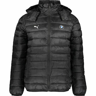 New Puma Men's Bmw Motorsport Eco Packlite 595184-01 Jacket Black XL BNWT