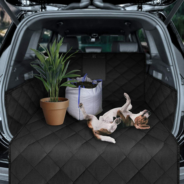 Kofferraummatte Schutzmatte Autoschondecke Hund  Ladekantenschutz universal