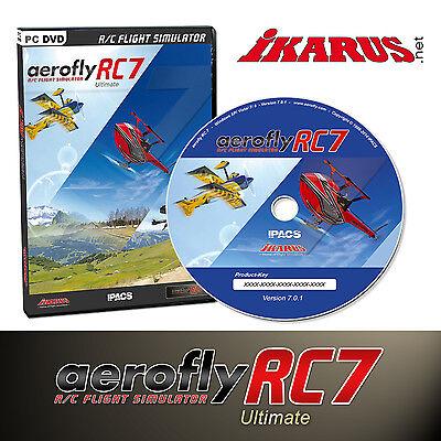 ikarus PC Flugsimulator AeroFlyRC7 - Aero Fly RC 7 Ultimate - DVD - Vollversion gebraucht kaufen  Wörthsee