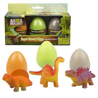 Animal Planet Grow Eggs-Dinosaur-Hatch and Grow 3 Different Eggs for Easter - Dinosaur Animal Planet