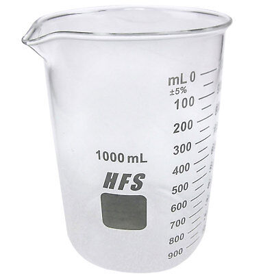 Hfsr 1l Graduation Glass Beaker With Spout