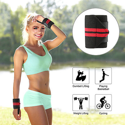 Weight Lifting Wrist Wraps Bandage Hand Support GYM Straps Fitness Grip Brace