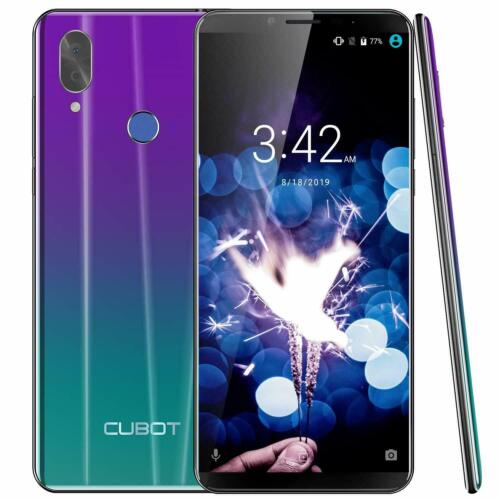 "5.9"" Cubot X19 4G Smartphone 4GB+64GB Octa Core Dual SIM Face ID Handy Android 9"