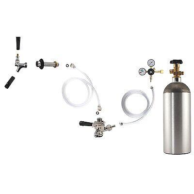 Kegerator Conversion Kit - Make Your Own Draft Beer Keg Fridge At Home New