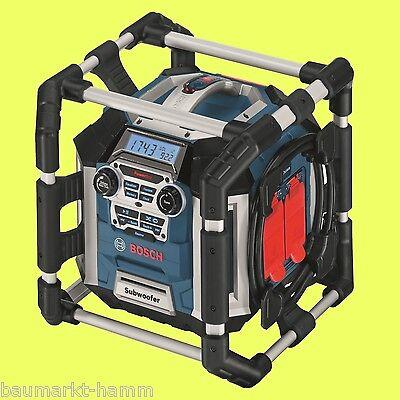 NUR HEUTE ! BOSCH Akku-Baustellen-Radio GML 50 0601429600 Radiolader 50 Watt