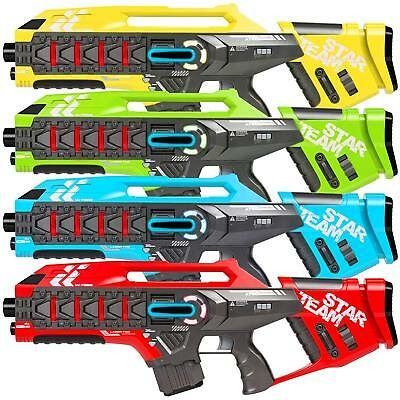 Best Choice Products Kids Interactive Infrared Rifle Blaster Tag Toy Guns w/