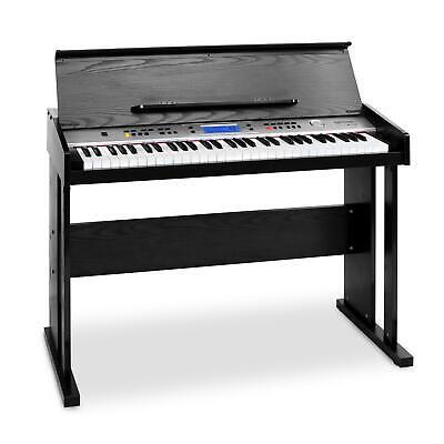 PIANO DIGITAL MIDI ELECTRONICO 61 TECLAS SENSIBLES TECLADO ELECTRICO SOPORTE