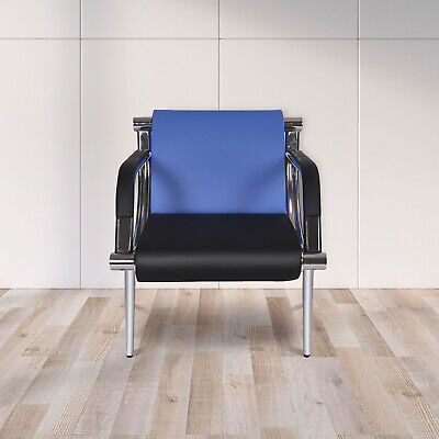 Waiting Room Chair Reception Pu Leather Office Airport Bank Salon Bench