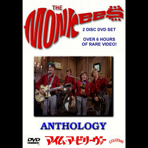 The Monkees Anthology 2-Disc DVD Set RARE!