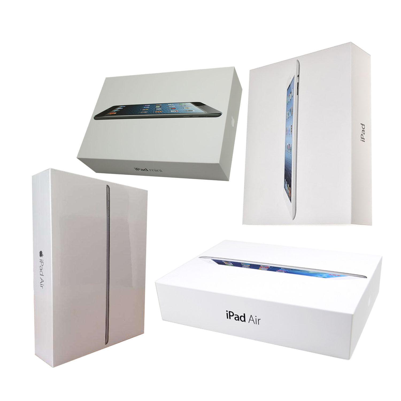 Apple iPad 2, 3, 4, Air or Air 2, mini or mini 2   16GB,32GB,64GB,128GB OEM BOX
