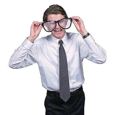 Black Jumbo Glasses (10 1/4