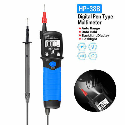 Hp-38b Digital Multimeter Pen Type Meter Dc Ac Voltage Continuity Tester Tool