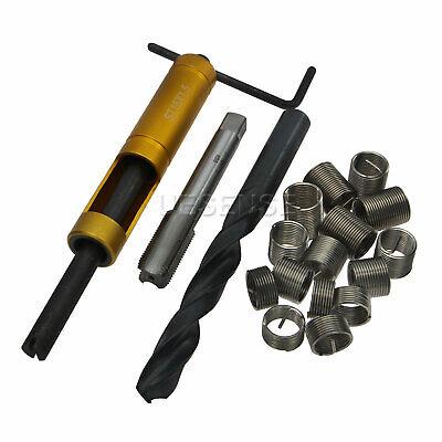 Thread Repair Kit M16 X 1.5 Tap Drill Bit Stainless Steel Insert 1d 1.5d 2d