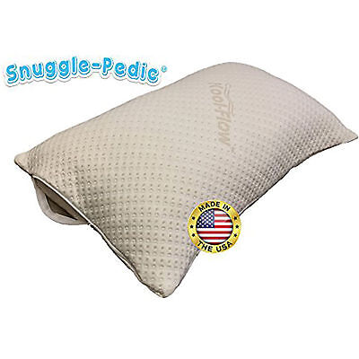 Bamboo Pillow Cover Zippered Protector Breathable Cool Eco-Friendly Washable ()