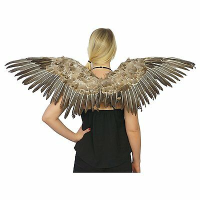 Feathered Wings Feather Angel Mocking Sexy Bird Adult Halloween Costume 48