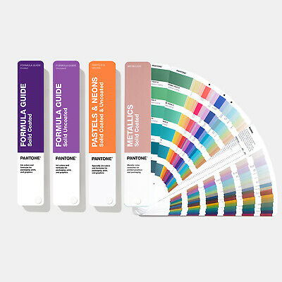 Pantone Solid Guide Set. With 294 New Solid Colours. New 2019 Version Brand New
