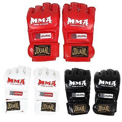 MMA Gloves Muay Thai Best Price High Quality Gym Training Half Mitt Training (Best Muay Thai Training)