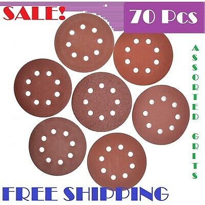 5 Inch Hook And Loop Sanding Discs Best Sandpaper Sand Paper Polishing Pads
