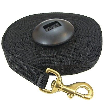Intrepid International NEW Lunge Line with Rubber Stopper - 25ft Horse Training