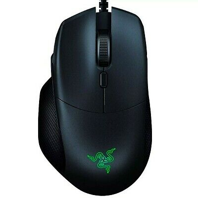 Razer Basilisk Essential Gaming Mouse, Matte Black, 6400 DPI Optical, Mechanical