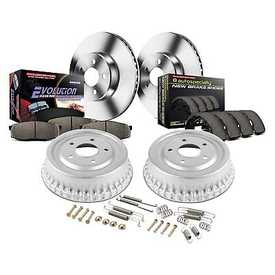 For Buick Century 84-92 Brake Kit Power Stop 1-Click Autospecialty Daily Driver