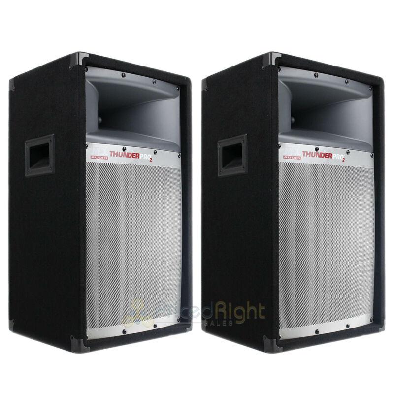 """2 Pack 12"""" Studio Loudspeaker 2-Way Speaker MTX Audio Tower 150 Watts RMS TP1200"""