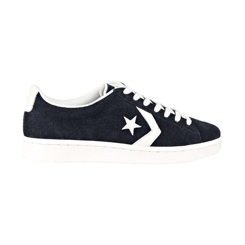 Converse Pro Leather Ox Men's Shoes Black Egret 157838C