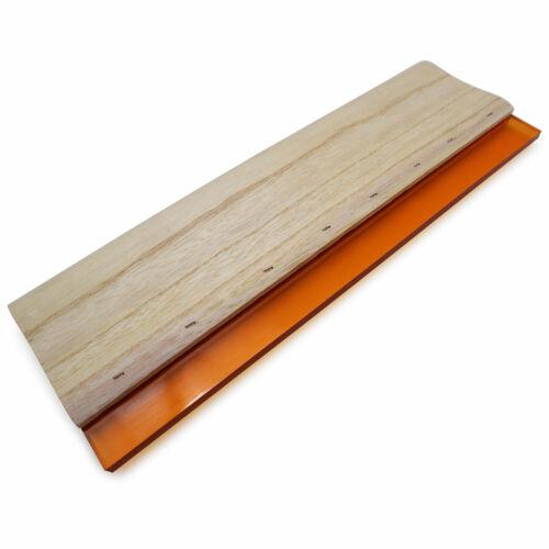 US Stock 6.5 In Screen Printing Squeegee Silk Screen Hand Tool wood Ink Scraper