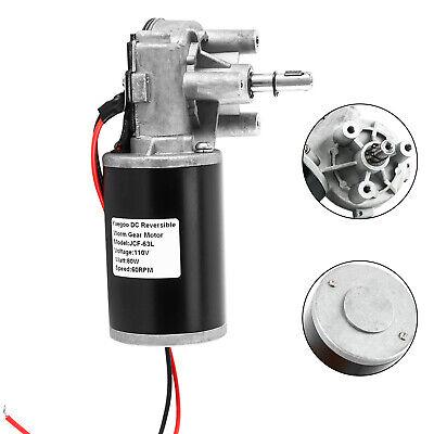 Jcf63l Dc110v High Torque Reversible Electric Gear Motor 60rpm 80w Life