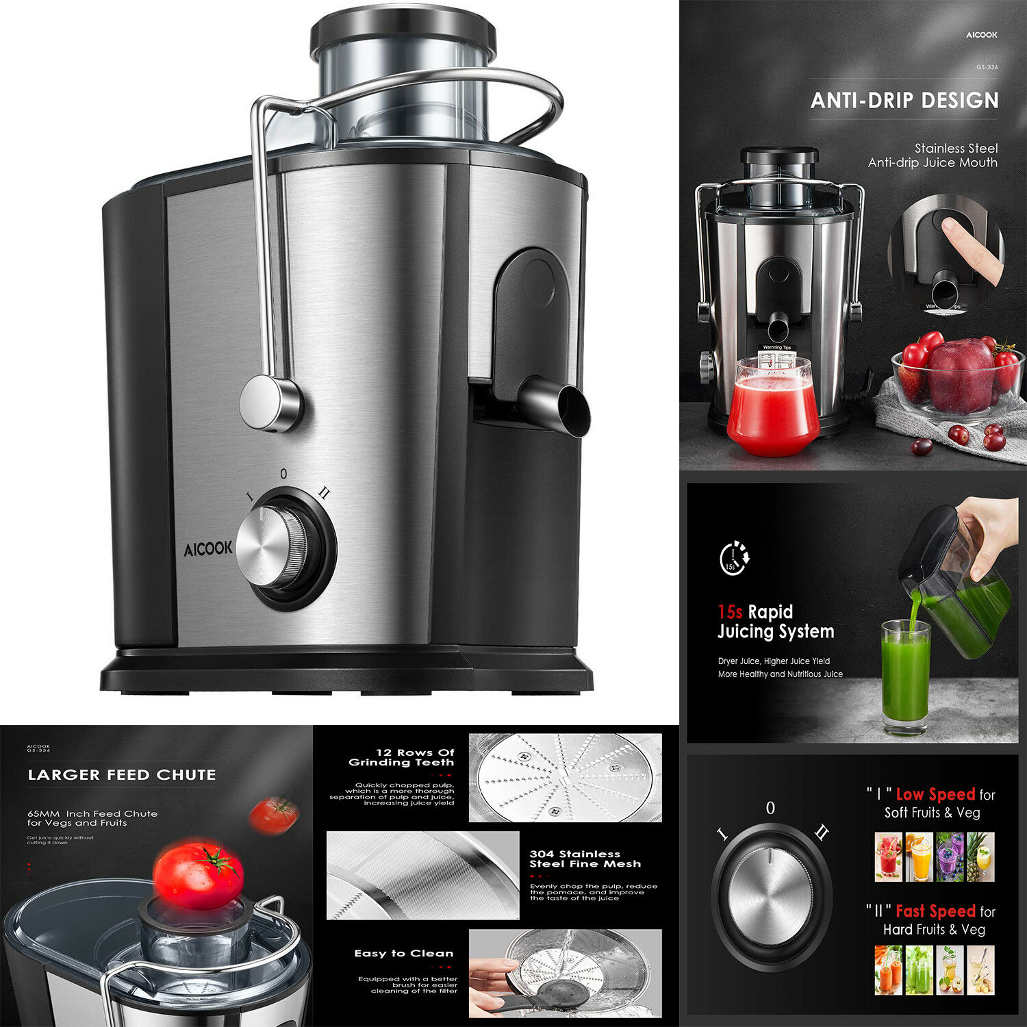 Best Juicer Centrifugal Machine Commercial Wide Mouth Extrac